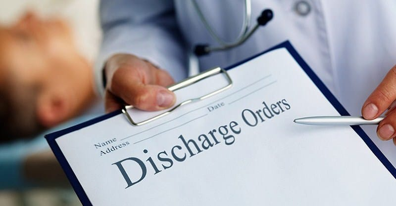 dating a patient after discharge Discharging a patient from your patient relationship and your intention to discharge the patient from the a patient from your medical practice.