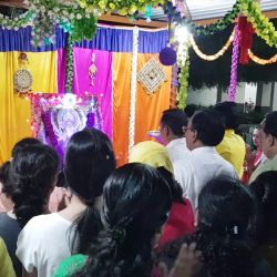 Papayacare festival celebration Navratri aarti